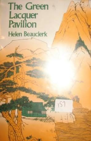 book cover of The Green Lacquer Pavilion