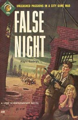 book cover of False Night