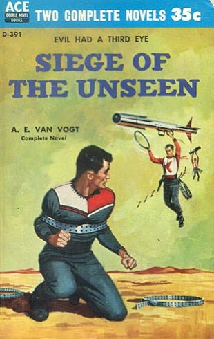 book cover of Siege of the Unseen
