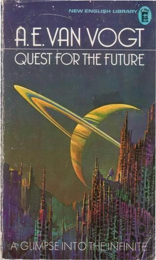 Cook Book Cover Quest : Quest for the future by a e van vogt