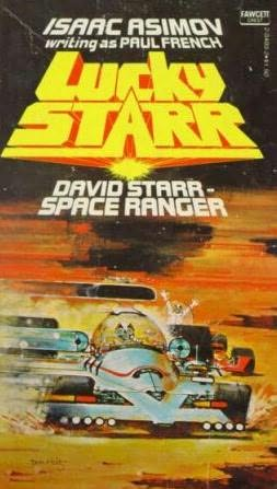 book cover of David Starr, Space Ranger