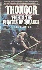 book cover of Thongor Fights the Pirates of Tarakus