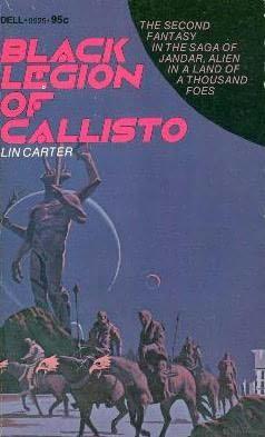 book cover of Black Legion of Callisto