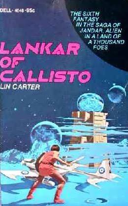 book cover of Lankar of Callisto