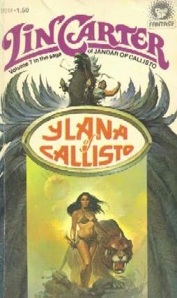 book cover of Ylana of Callisto
