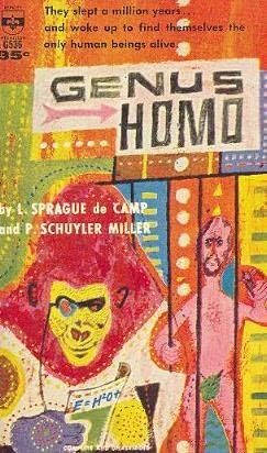 book cover of Genus Homo