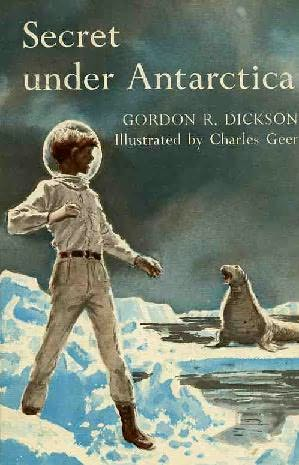 book cover of Secret Under Antarctica