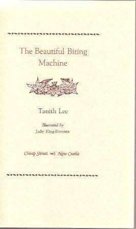 book cover of The Beautiful Biting Machine