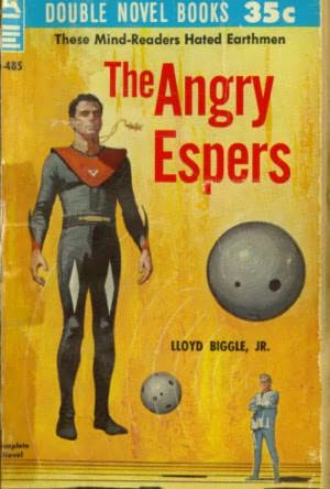 book cover of The Angry Espers
