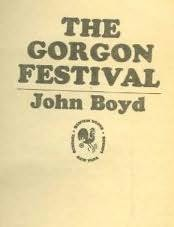 book cover of The Gorgon Festival