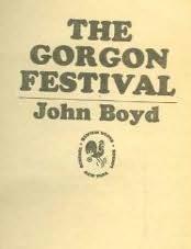 book cover of The Gorgon Festival