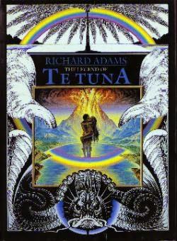 book cover of The Legend of Te Tuna