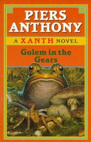 book cover of Golem in the Gears