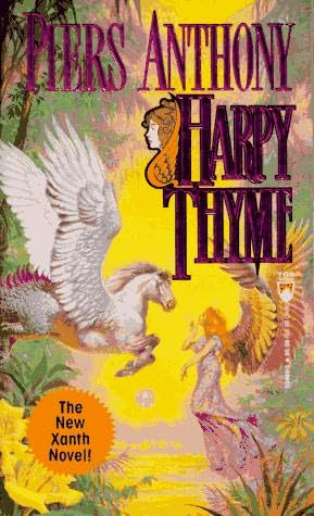 book cover of Harpy Thyme