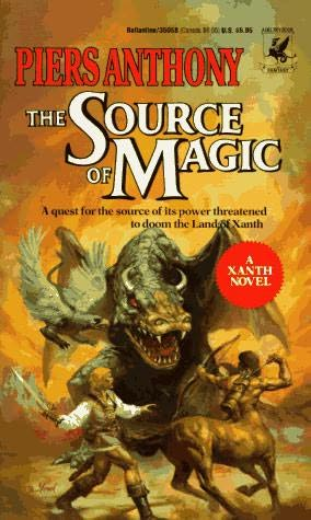 book cover of The Source of Magic