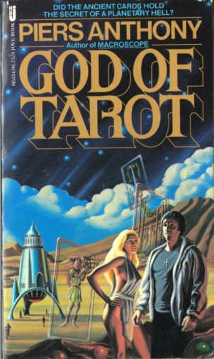 book cover of God of Tarot