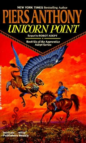 book cover of Unicorn Point