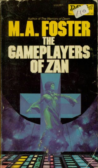 book cover of The Gameplayers of Zan