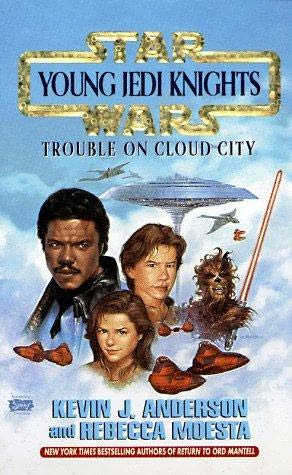 book cover of Trouble on Cloud City
