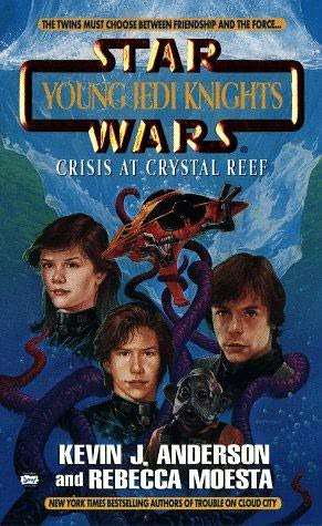book cover of Crisis at Crystal Reef