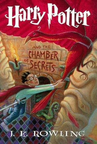 book cover of  Harry Potter and the Chamber of Secrets   (Harry Potter, book 2) by J K Rowling