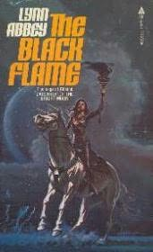 book cover of The Black Flame
