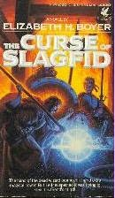 book cover of The Curse of Slagfid
