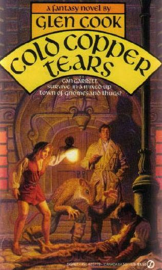book cover of Cold Copper Tears