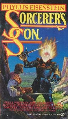 book cover of Sorcerer\'s son