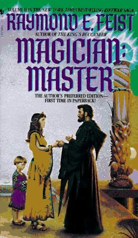 book cover of Magician: Master