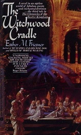 book cover of The Witchwood Cradle
