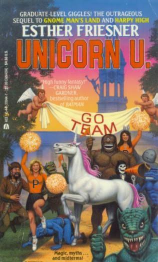 book cover of Unicorn U
