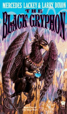 book cover of The Black Gryphon