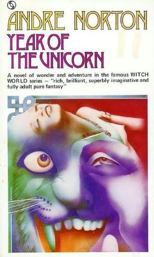 book cover of Year of the Unicorn
