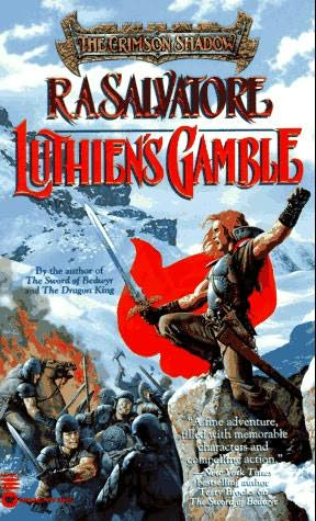 book cover of Luthien\'s Gamble