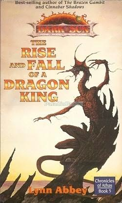 book cover of The Rise and Fall of a Dragon King