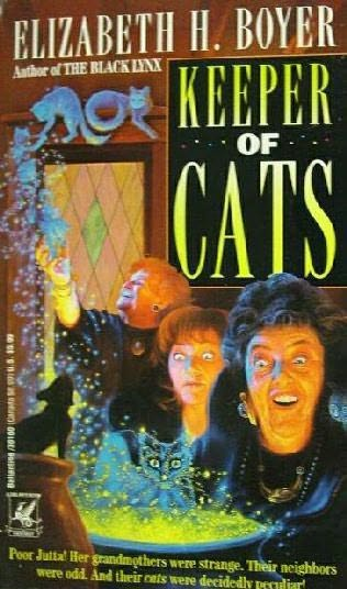 book cover of Keeper of Cats