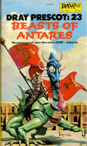 book cover of Beasts of Antares