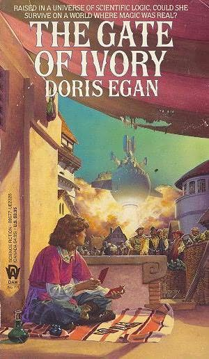 book cover of The Gate of Ivory