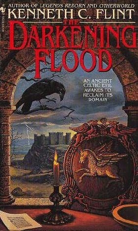book cover of The Darkening Flood