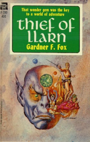 book cover of Thief of Llarn