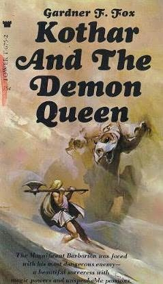 book cover of Kothar and the Demon Queen