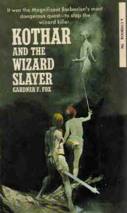 book cover of Kothar and the Wizard Slayer
