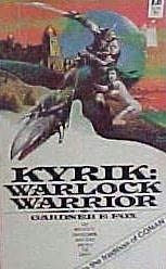 book cover of Warlock Warrior