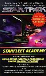 book cover of Starfleet Academy