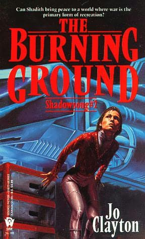 book cover of The Burning Ground