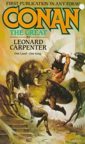 book cover of Conan the Great