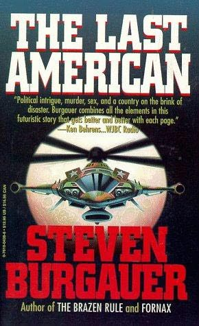 book cover of The Last American