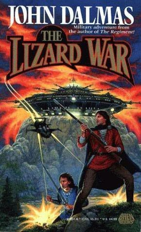 book cover of The Lizard War