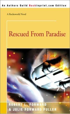 book cover of Rescued from Paradise